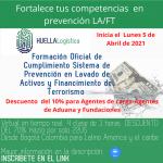 *YA INICIO* EN CURSO  LUNES 5 DE ABRIL * Formación Oficial de cumplimiento Sistema de Prevención en Lavado de activos y financiamiento del terrorismo FICHA 401